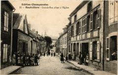 Hautvillers Grande-Rue allant a l'Eglise - Hautvillers