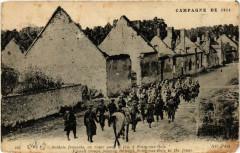 Soizy-aux-Bois Soldats francais en route pour le feu - Soizy-aux-Bois