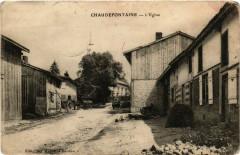 Chaudefontaine - L'Eglise - Chaudefontaine