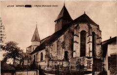 Somsois-L'Eglise Monument classe - Somsois