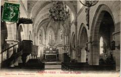 Somme-Vesle Interieur de l'Eglise - Somme-Vesle