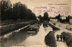 Pogny-Vue générale du Port - Pogny
