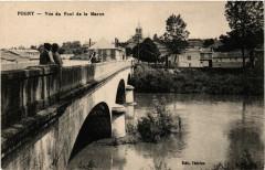 Pogny-Vue du Pont de la Marne - Pogny