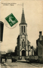 Env. du Camp de Chalons - Cuperly - L'Eglise - Cuperly