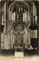 Saint-Amand sur Fion Interieur de l'Eglise - Saint-Amand-sur-Fion