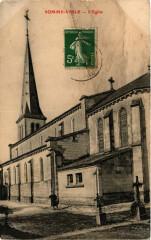 Somme-Vesle. L'Eglise - Somme-Vesle