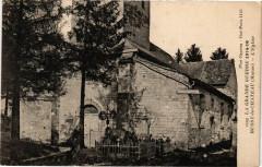 La Grande Guerre 1914-16 - Bussy-le-Chateau (Marne) - L'Eglise - Bussy-le-Château