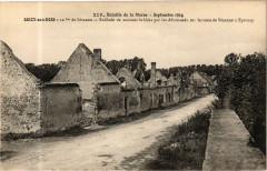 Bataille de la Marne - Septembre 1914 - Soizy-aux-Bois 12 km de - Soizy-aux-Bois