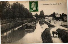 Pogny - Vue générale du Port - Pogny