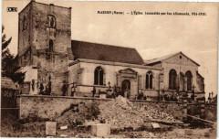 Marson (Marne) - L'Eglise (Incendiée par les Allemands 1914-1918) - Marson