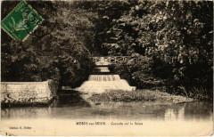Mussy-sur-Seine - Cascade sur la Seine - Mussy-sur-Seine