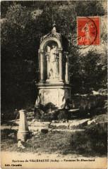 Villenauxe - Fontaine Saint-Blanchard - Fontaine