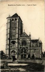 Rumilly-Les-Vaudes - Facade de l'Eglise - Rumilly-lès-Vaudes