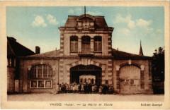 Vaudes La Mairie et l'Ecloe Aube - Vaudes