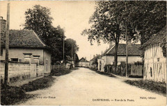 Dampierre Rue de la Poste Aube - Dampierre