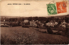 Estissac Vue générale Aube - Estissac