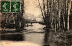 Courtenot Lenclos- Isle et Pont de la Seine France - Courtenot