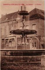 St Mards en Othe- La Fontaine France - Fontaine