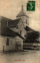 Jasseines- Eglise France - Jasseines