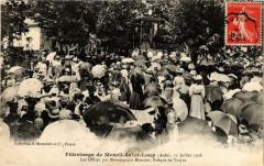 Pélerinage de Mesnil-Saint-Loup 1908 Les Offices - Mesnil-Saint-Loup