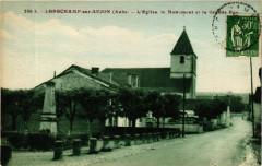 Longchamp-sur-Aujon - L'Eglise le Monument et la Grande Rue - Longchamp-sur-Aujon