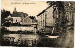 Bossancourt - Le moulin et l'eglise - Bossancourt