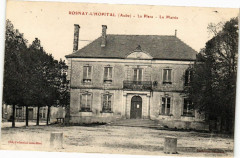 Rosnay-L'Hopital - La Place - la Mairie - Rosnay-l'Hôpital