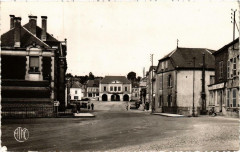 Signy-l'Abbaye La Place Aristide Briand - Signy-l'Abbaye
