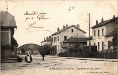 Amagne-Lucquy Avenue de la Gare - Amagne