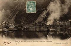 Montherme Le Pont Suspendu - Monthermé