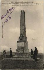 Beaumont-en-Argonne - Monument Allemand - Beaumont-en-Argonne