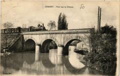 Pont sur la Dheune - Chagny