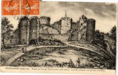Montcornet - Ruines de l'ancien Chateau-Fort (Xi siécle) - Montcornet