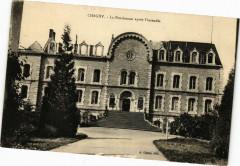 Chagny - La Pensionnat aprés l'incendie - Chagny