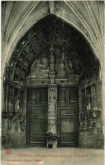 Poissons - Le Portail de l'Eglise Saint-Aignan - Poissons