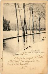 Arc-en-Barrois - Les bords de l'Aujon en hiver - Arc-en-Barrois