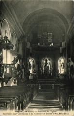 Orges - Interieur de l'Eglise - Orges