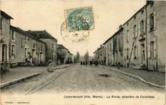 Juzennecourt La Route direction de Colombey - Juzennecourt