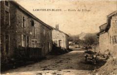 Lamothe en Blaisy - Entree du Village - Blaisy