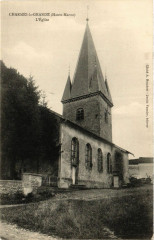 Charmes la Grande - L'Eglise - Charmes-la-Grande