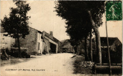 Clefmont - Rue Gouriere - Clefmont