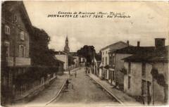 Environs de Doulevant - Dommartin le Saint Pere - Rue principale - Dommartin-le-Saint-Père