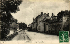 Dampierre - La Grande Rue - Dampierre