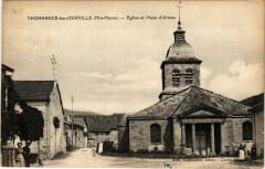 Thonnance les Joinville - Eglise et Place d'Armes - Thonnance-lès-Joinville