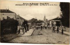 Dommartin le Saint-Pere - Le Pont et rue de la Gare - Dommartin-le-Saint-Père