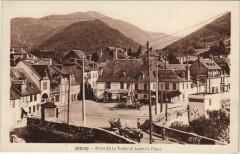 Arreau Pont de la Neste d'Aure et Place - Arreau