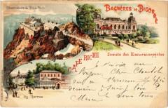 Litho Bagneres-de-Bigorre - Souvenir - Bagnères-de-Bigorre