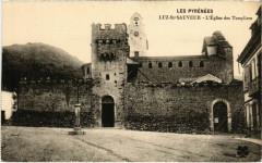 Luz - Saint-Sauveur - L'Eglise des Templiers - Luz-Saint-Sauveur