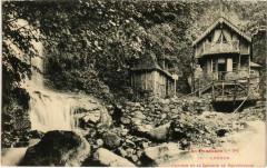 Luchon - Chalets et la Cascade de Sourrouille - Luc