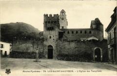 Luz-Saint-Sauveur - L'Eglise des Templiers - Luz-Saint-Sauveur